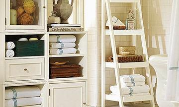 Μικρό μπάνιο; 20+5 ιδέες για μεγαλύτερη άνεση