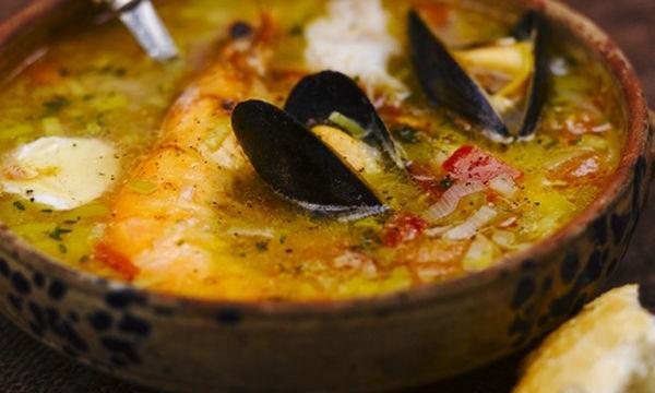 Η πιο νόστιμη συνταγή του Jamie Oliver: Ψαρόσουπα