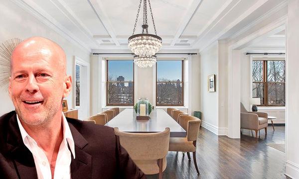 Ο Bruce Willis πούλησε το σπίτι του στο Central Park - Δείτε φωτογραφίες από το εσωτερικό του