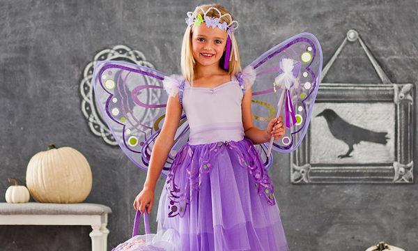 Αποκριάτικα αξεσουάρ για κορίτσια: Φτερά πεταλούδας ή νεράιδας