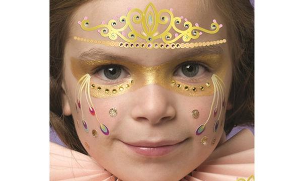 Αποκριάτικο facepainting για κορίτσια: Δείτε πώς θα το φτιάξετε