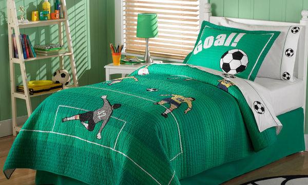 Διακόσμηση παιδικού δωματίου: Απίθανες ιδέες για αγόρια «κολλημένα» με το ποδόσφαιρο (pics)