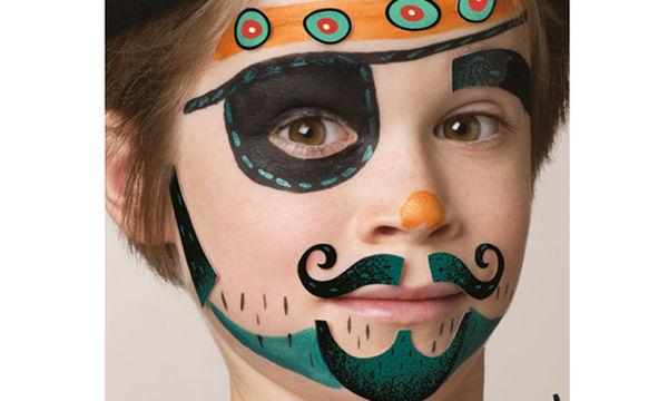 Αποκριάτικο facepainting για αγόρια: Δείτε πώς θα το φτιάξετε