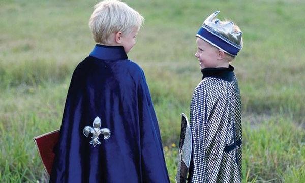 Αποκριάτικη στολή για αγόρια: Βασιλιάς - Ιππότης