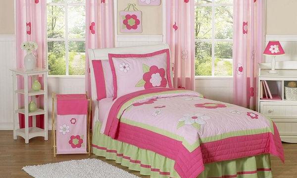 Deco: Διακοσμήστε το παιδικό δωμάτιο με λουλούδια (pics)