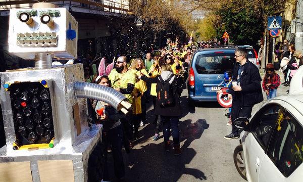 Ο παλμός του Καρναβαλιού χτυπάει στο Ανοιχτό Σχολείο...του Μετς!