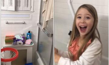 Αυτό το 5χρονο κορίτσι τα «σπάει» στο μπάσκετ! Θα τη ζήλευαν και οι... επαγγελματίες (video)