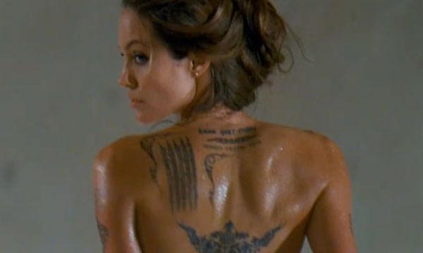 Στο μικροσκόπιο τα τατουάζ της Angelina Jolie: Ο συμβολισμός και η ιστορία πίσω από αυτά (pics)