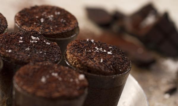Μίνι σουφλέ σοκολάτας - Μοναδική απόλαυση