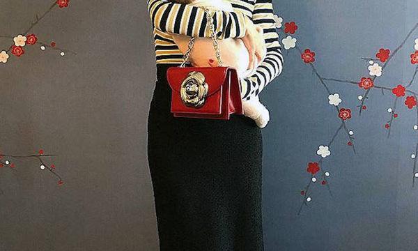 Σαράντα μέρες μετά τη γέννα, δημοσίευσε την πρώτη φωτογραφία της κόρης της (pics)