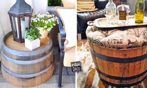 Deco: 24 ιδέες διακόσμησης με ξύλινα βαρέλια
