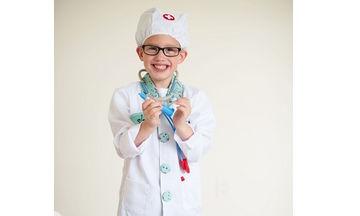 Αποκριάτικη στολή για αγόρια: Γιατρός με αξεσουάρ