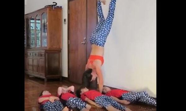 Δείτε τι κάνουν αυτές οι μαμάδες - Θα μείνετε με το στόμα ανοιχτό (video)