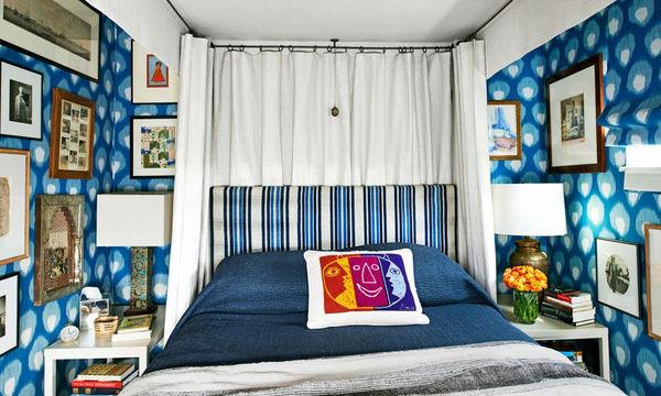 Είκοσι έξυπνες ιδέες διακόσμησης για μικρές κρεβατοκάμαρες
