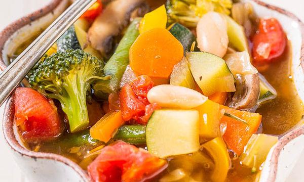 Σούπα λαχανικών! Η πιο υγιεινή επιλογή για όσους νηστεύουν