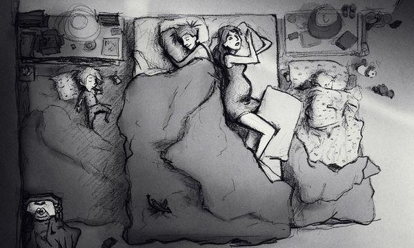 Τα ασπρόμαυρα σκίτσα ενός συζύγου με τις οικογενειακές του στιγμές θα σας συγκινήσουν (pics)