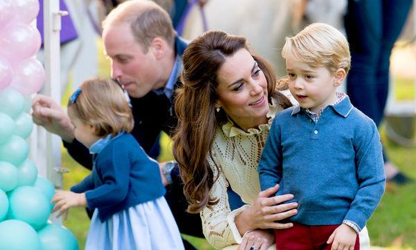 Οι πιο γλυκιές φωτογραφίες του πρίγκιπα William και της Kate Middleton με τα παιδιά τους