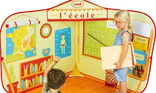 Παιδική σκηνή «Σχολική Αίθουσα», για ατελείωτο παιχνίδι