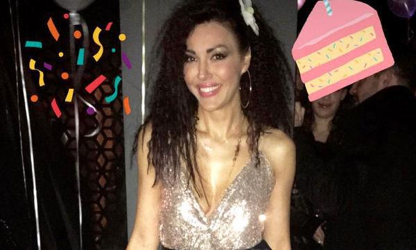 Σίσσυ Φειδά: Έτσι γιόρτασε τα γενέθλια της η σέξι μανούλα