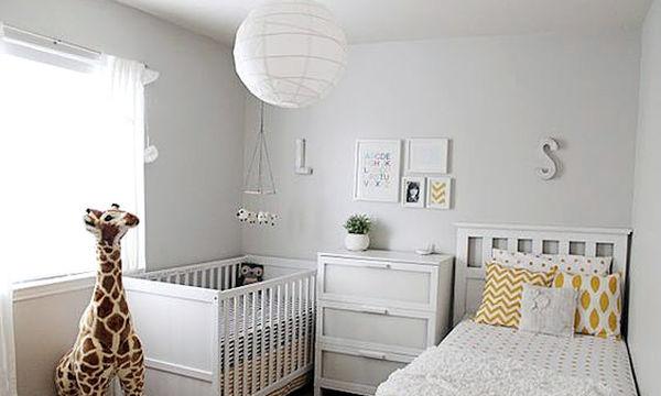 Μωρό και μεγαλύτερο παιδί μαζί στο ίδιο δωμάτιο: 22 απίθανες ιδέες για να το διακοσμήσετε (pics)