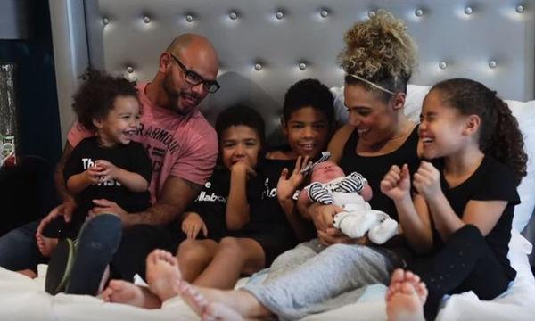 «Για εμάς είναι τέλεια!» -  Η οικογένεια γιορτάζει τη γέννηση της μικρής τους με Σύνδρομο Down