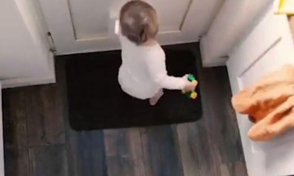 Μπαμπάς ανακαλύπτει ποιος εξαφανίζει τα πράγματα του σπιτιού (video)