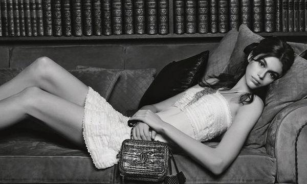 Η πρώτη καμπάνια της Kaia Gerber για τον οίκο Chanel είναι ασπρόμαυρη και υπέροχη