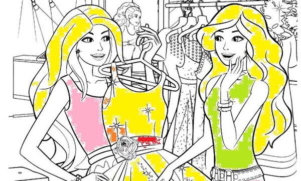 Χρωμοσελίδες Barbie για να εκτυπώσετε αυτή που αρέσει στα κορίτσια σας πιο πολύ -  20 χρωμοσελίδες