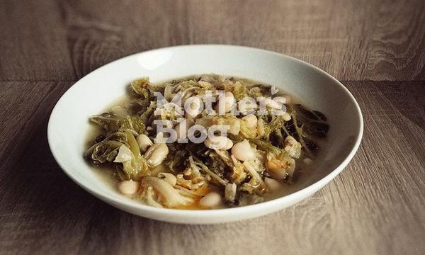 Φασουλολάχανα, νηστίσιμο φαγητό από τον Γιώργο Γεράρδο