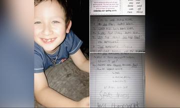 Το τρολάρισμα εφτάχρονου μαθητή στη δασκάλα του για τις εργασίες στο σπίτι, που συζητήθηκε