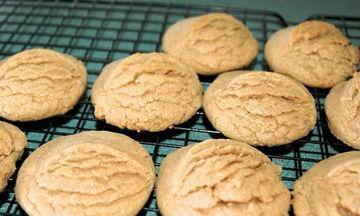 Πεντανόστιμα νηστίσιμα μπισκότα κανέλας έτοιμα μέσα σε 15 λεπτά