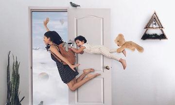 Μαμά φωτογραφίζει τα τρία της παιδιά. Το αποτέλεσμα είναι μαγικό και αστείο (pics)
