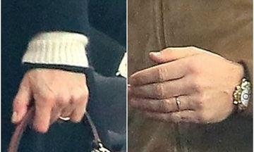 Παντρεύτηκε κρυφά η διάσημη ηθοποιός; Η βέρα στο δεξί, που «φούντωσε» τις φήμες (pics)