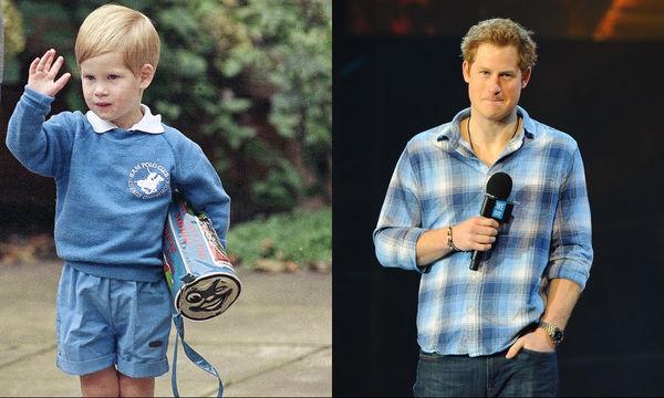 Πρίγκιπας Harry: 10 φωτογραφίες από την παιδική του ηλικία μέχρι σήμερα