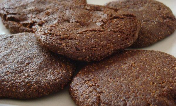 Μπισκότα σοκολάτας  με μέλι - Νόστιμα και υγιεινά
