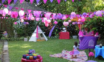 Παιδικό πάρτι γενεθλίων σε κήπο: Τριάντα ιδέες για να το οργανώσετε (pics)