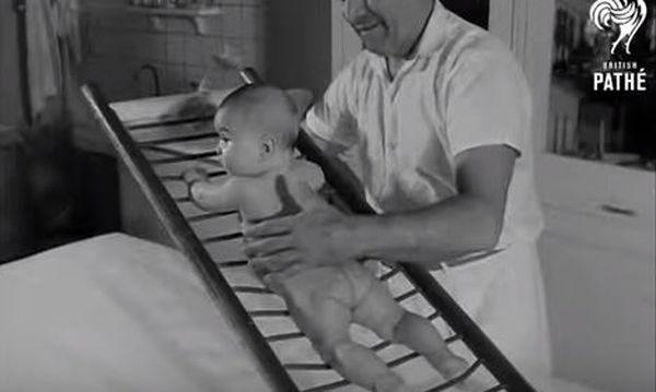 Ασκήσεις που έκαναν στα μωρά το 1969 (pics & vid)