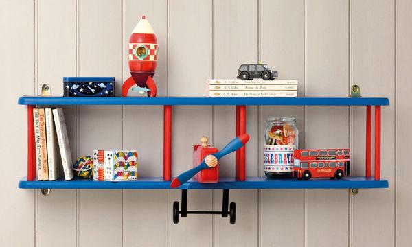 Deco: Διακοσμήστε το παιδικό δωμάτιο με πρωτότυπα ράφια