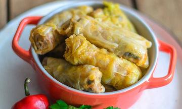 Νηστίσιμη συνταγή: Ντολμαδάκια με σόγια