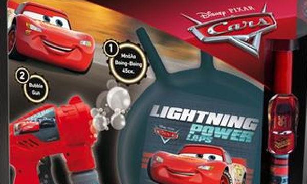 Ιδέες για πασχαλινή λαμπάδα: Cars Boing Boing και Bubble Gun