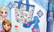 Ιδέες για πασχαλινή λαμπάδα:  Frozen Τσάντα Glam και γοβάκια