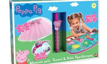 Ιδέες για πασχαλινή λαμπάδα: Peppa μουσικό χαλί- Ρολόι προτζέκτορας