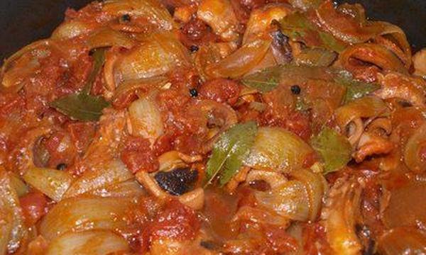 Συνταγή για Αγιορείτικο χταπόδι στιφάδο