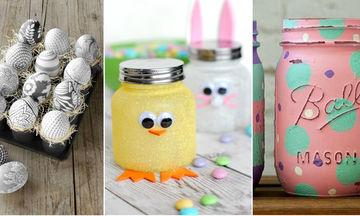 Τριάντα ιδέες για το Πάσχα: Διακόσμηση και κατασκευές με τα παιδιά