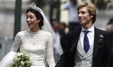 Ένας ακόμα διάδοχος του βρετανικού θρόνου μόλις παντρεύτηκε: Δείτε τις φωτογραφίες!