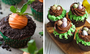 Πασχαλινά cupcakes: Είκοσι πέντε ιδέες για να τα διακοσμήσετε