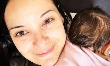 H πρώτη έξοδος της νεογέννητης κόρης της Κ. Τσάβαλου στα γενέθλια του Μπρούνο Τσιρίλο (vid)