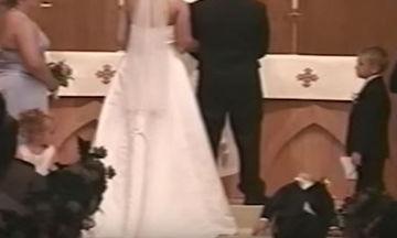 Τα πιο αστεία περιστατικά με παιδιά που έχουν συμβεί σε γάμους