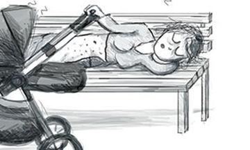 Η ζωή μιας νέας μαμάς μέσα από χιουμοριστικά ασπρόμαυρα σκίτσα