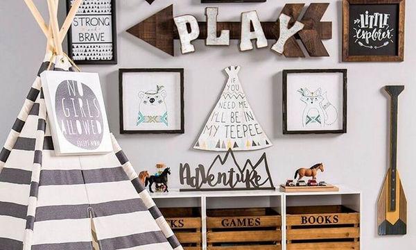 Παιδικό δωμάτιο: Υπέροχα είδη διακόσμησης που κάνουν τη διαφορά